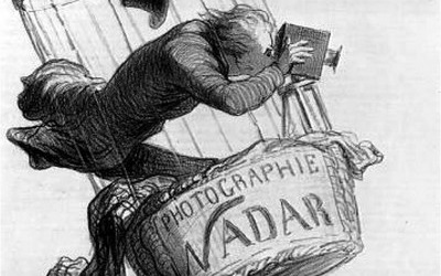 Daumier, Nadar elevating photography
