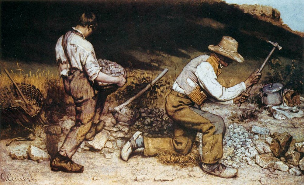 Courbet, The Stonebreakers, 1849