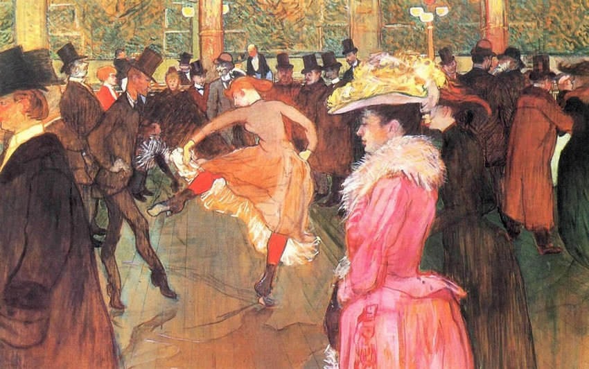 Lautrec, Dance at the Moulin Rouge, 1889