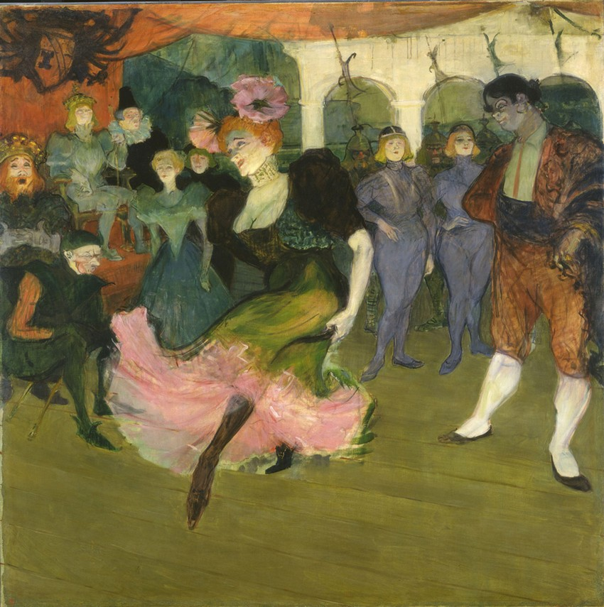 Lautrec, Marcelle Lender dancing the Bolero at Chilperic, 1895