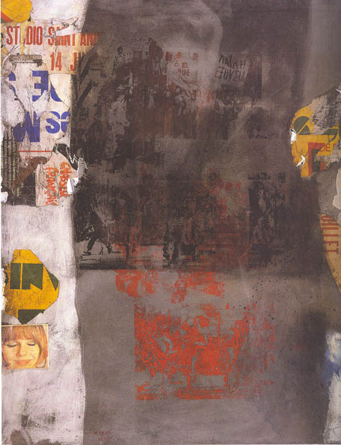 Nikos Kessanlis, The Wall, 1980