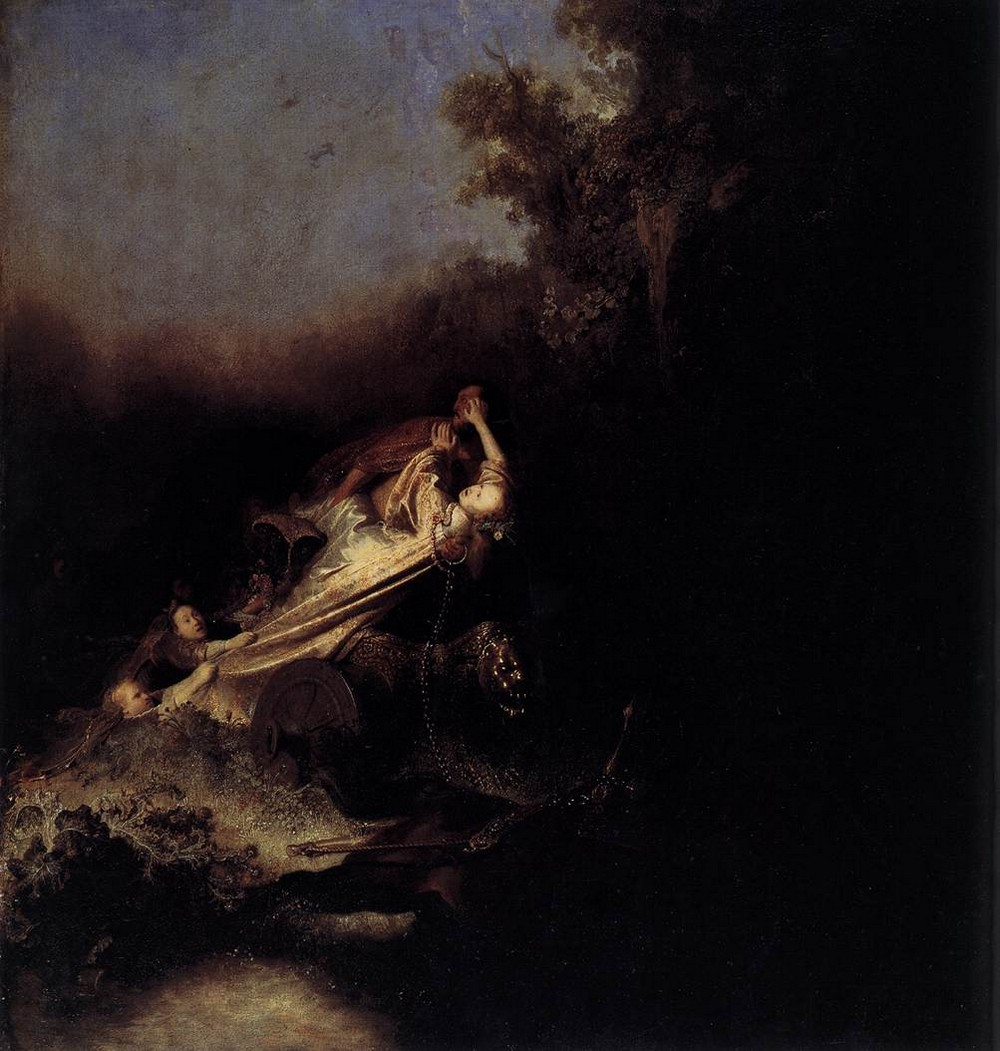 Rembrandt, The rape of Proserpina, 1631