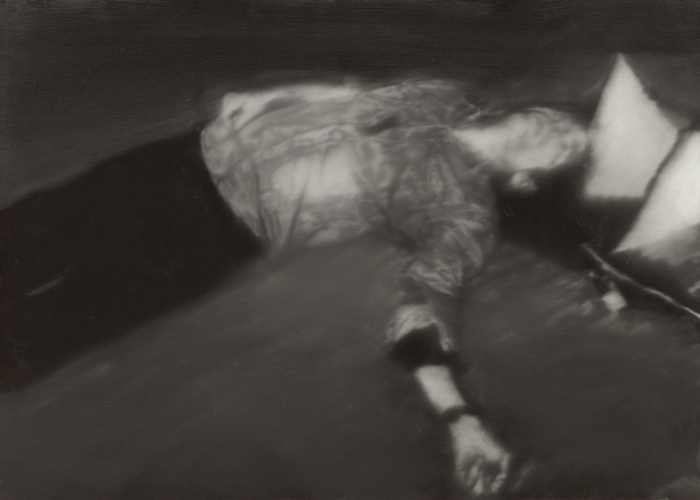 Gerhard Richter, Man shot down, 1988