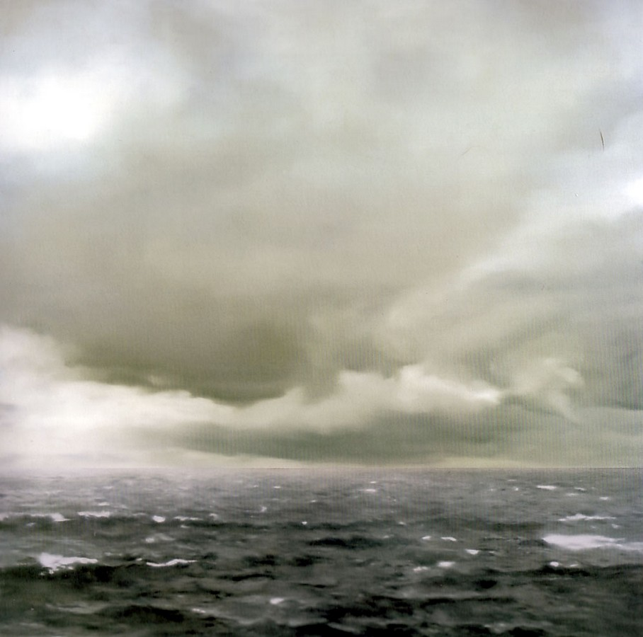 Gerhard Richter, Seascape (Cloudy), 1969