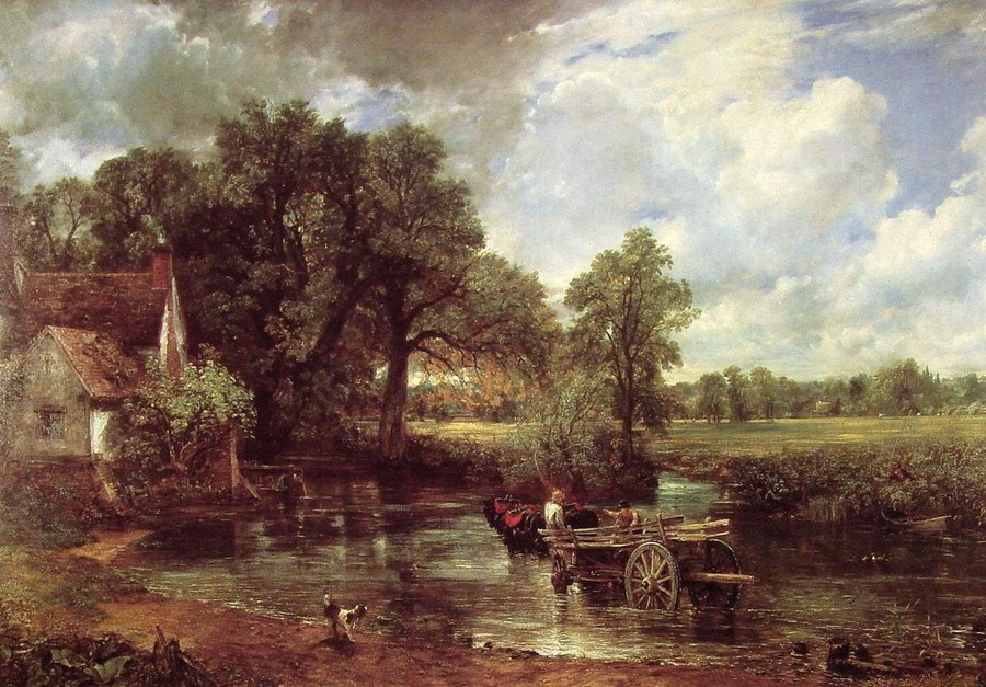 Constable, The Hay Wain, c. 1821