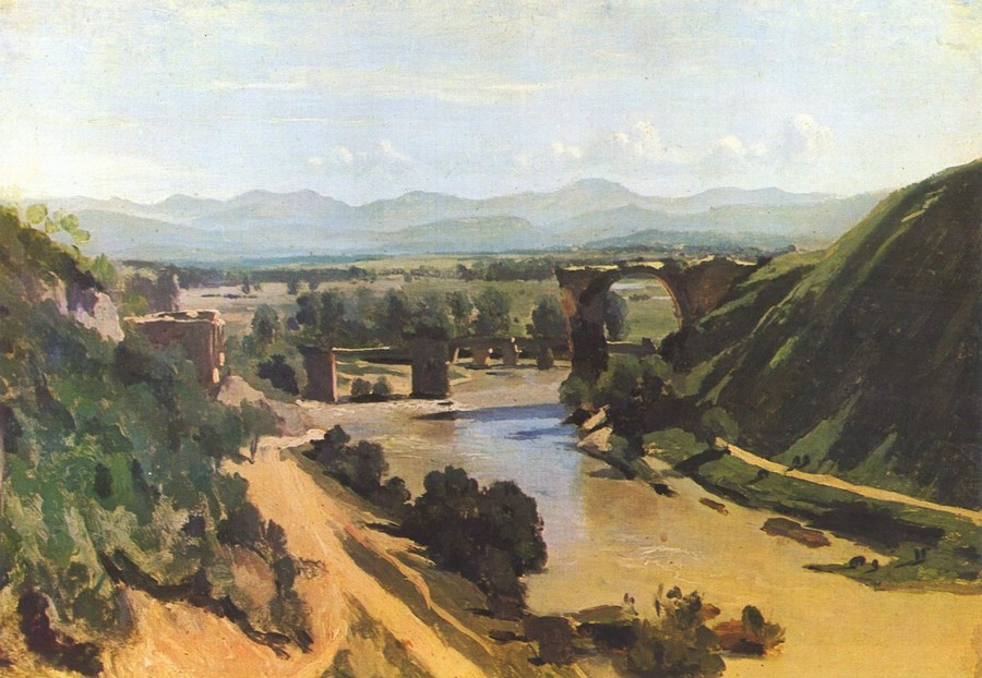 Corot, The bridge at Narni, 1826