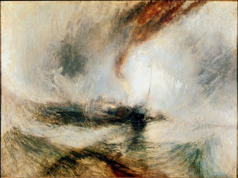 William Turner Snow Storm, 1842