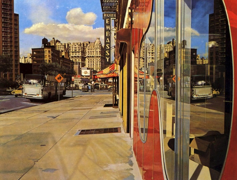Estes, Bus Reflections,1972