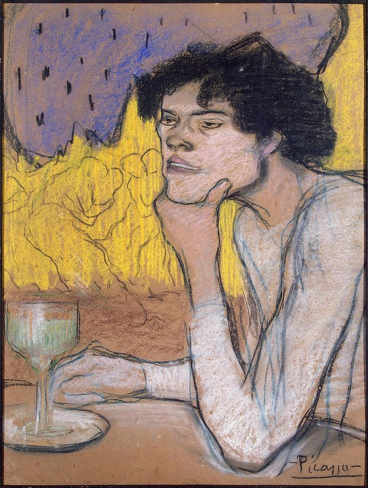 Picasso,The Absinthe Drinker