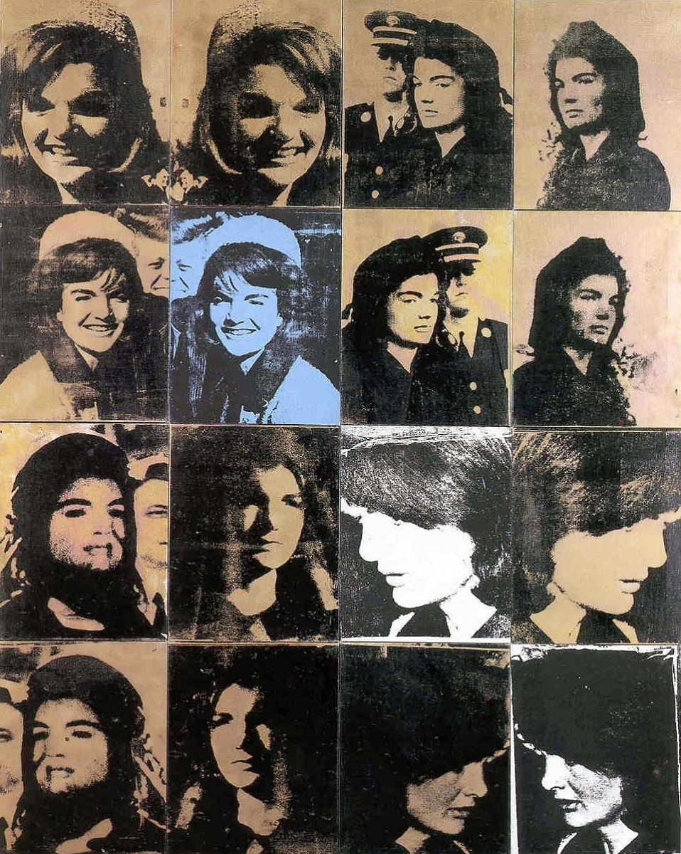 Andy Warhol, Jackie The week that was, 1964, Private Collection