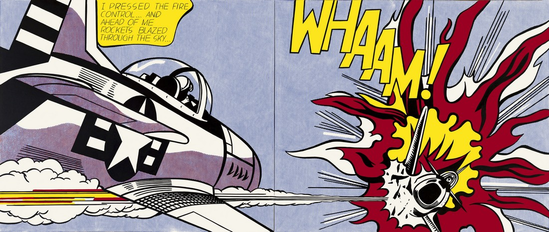 Roy Lichtenstein, Whaam, 1963