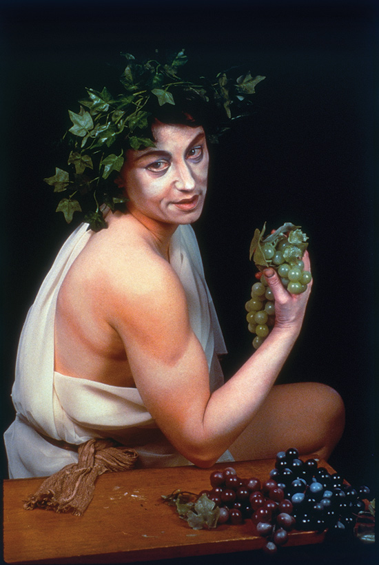 Cindy Sherman, Untitled No. 224 (After Caravaggio Bacchus), 1990