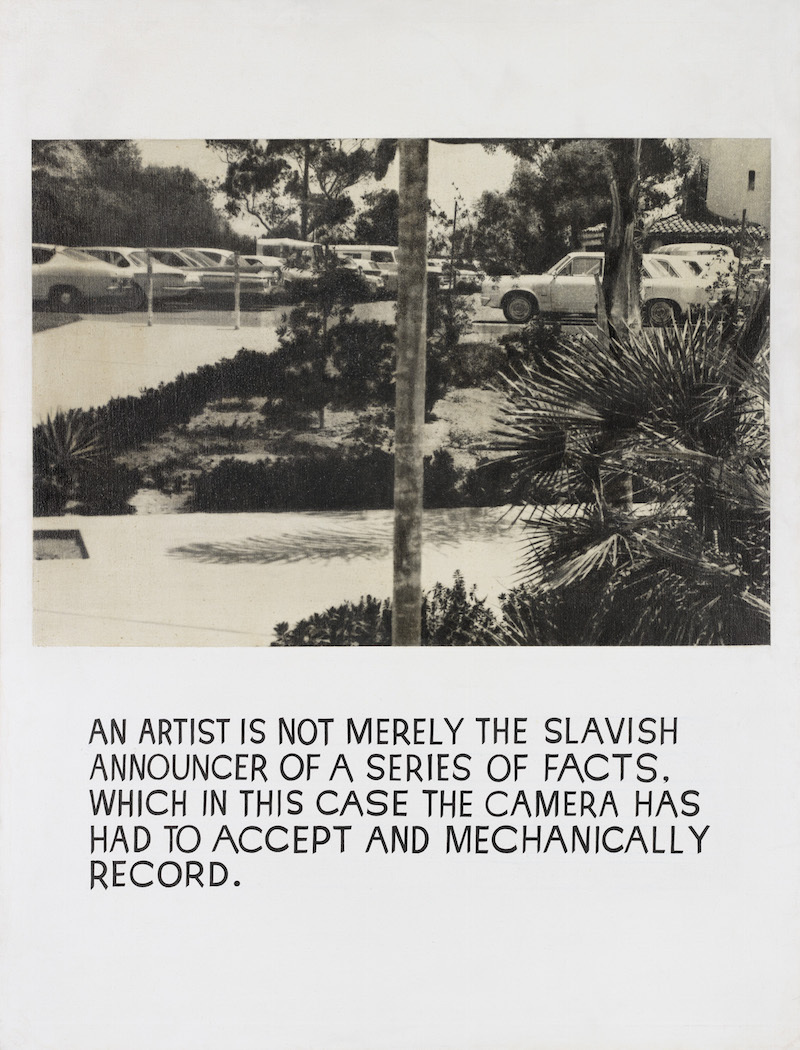 John Baldessari, Untitled, 1967