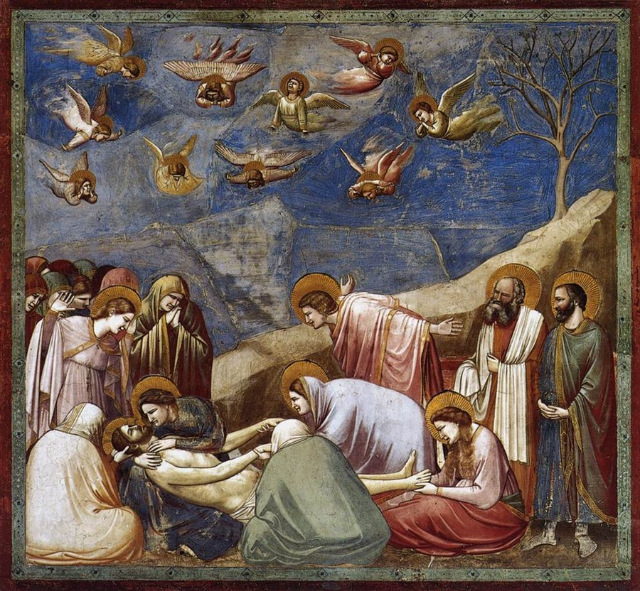 Giotto, Lamentation
