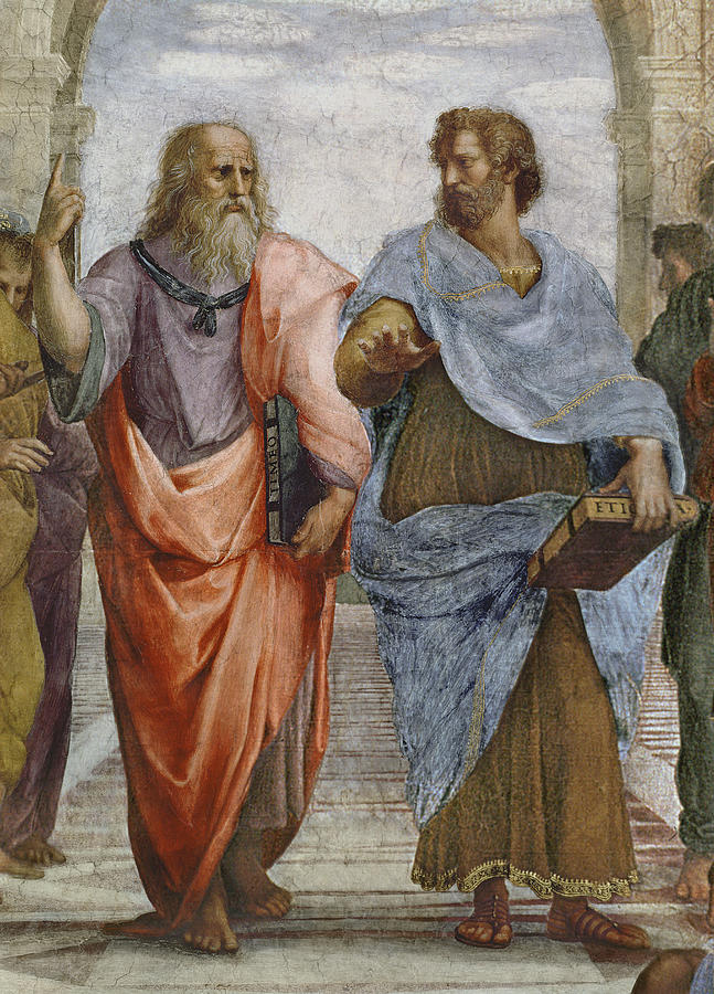 School of Athens Plato and Aristoteles