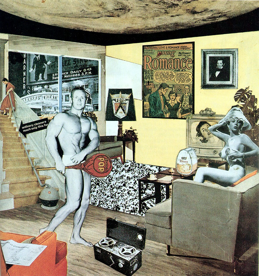 Richard Hamilton, Just what is it that makes today's homes so different, so appealing?, 1956