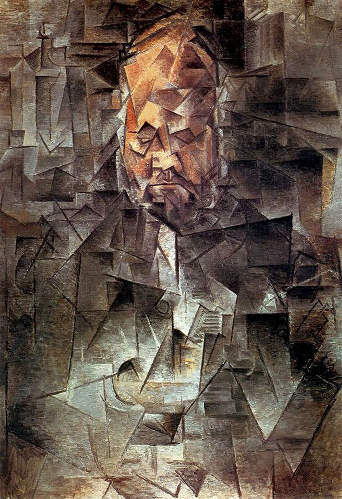 Pablo Picasso, Portrait of Ambroise Vollard
