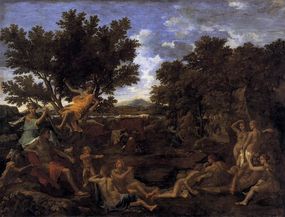 Poussin, Apollo and Daphne, 1625.