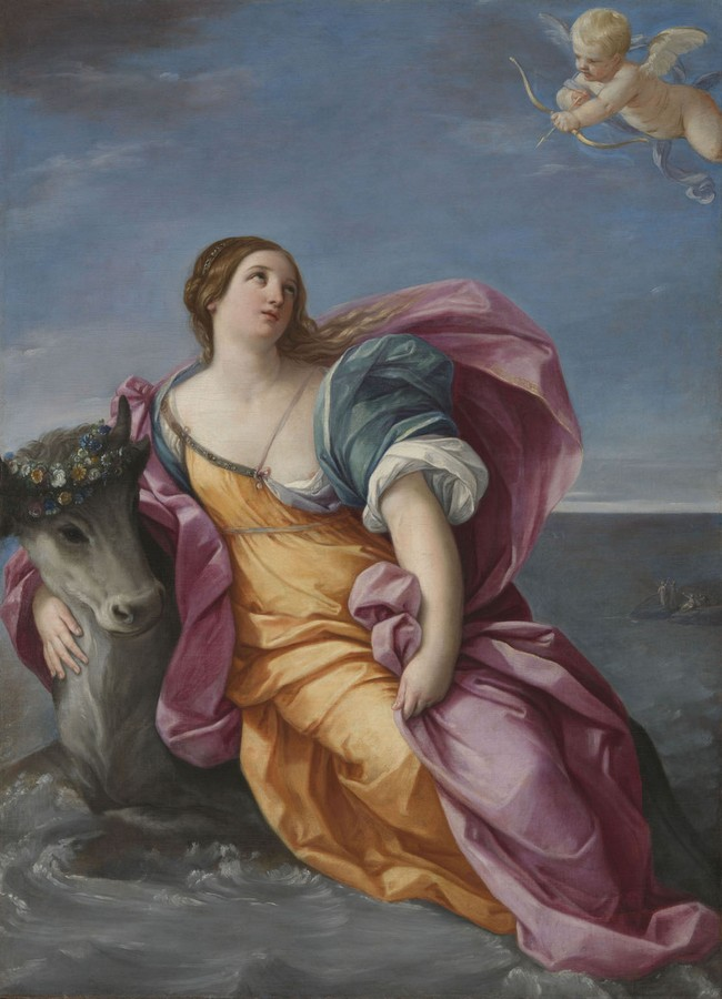 Reni, The Rape of Europa, 1640