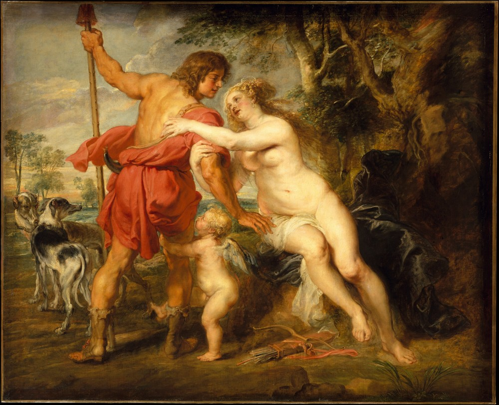 Rubens, Venus and Adonis, 1635-38