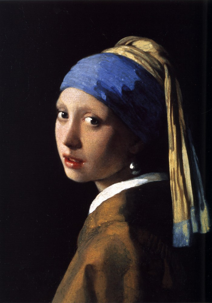 Vermeer, Girl with a Pearl Earring, c. 1665