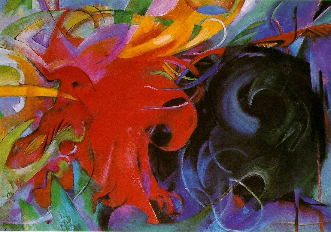 Franz Marc, Fighting Forms, 1914